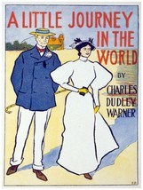 6150.A little journey in the world.charles dudley warner.POSTER.Home Office art - $10.89+