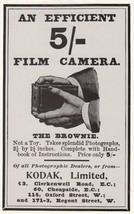 The Kodak 5 Shilling Efficient Vintage Film Camera 1900 Repro Advert Pos... - $8.99
