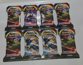 Pokemon Sword And Shield Booster Pack Lot Of 8 Factory Sealed Trading Card Game  - $49.45