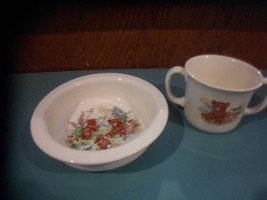 Royal Kent, Childs Bowl and Mug, Bear Cubs Bone China Straffordshire Eng... - $13.69