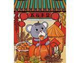 Hornet Park Cute Style Chinese New Year Year of The Rat Decorative Door Curtain,