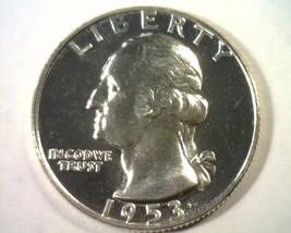 1953 WASHINGTON QUARTER GEM PROOF CAMEO GEM PR CAM NICE ORIGINAL COIN BO... - $75.00