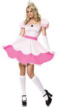 Peach Mario Bros Halloween costume - $30.00