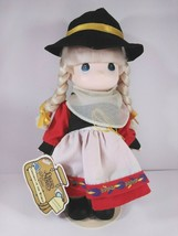 """Precious Moments Children Of The World Gretchen Germany 9"""" Doll w/ Stand - $9.75"""