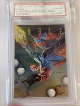 1995 ULTRA XMEN #2 Cable Hunters & STALKERS GOLD Chase PSA 10 Low Pop MCU - $3,959.99