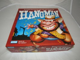 HANGMAN 2-PERSON 2-BOARDS GAME=LETTER WORD GUESSING, 2003, PARKER BROS - $22.49
