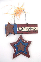 Holiday Home July 4th WELCOME  Star Plaque - €4,13 EUR