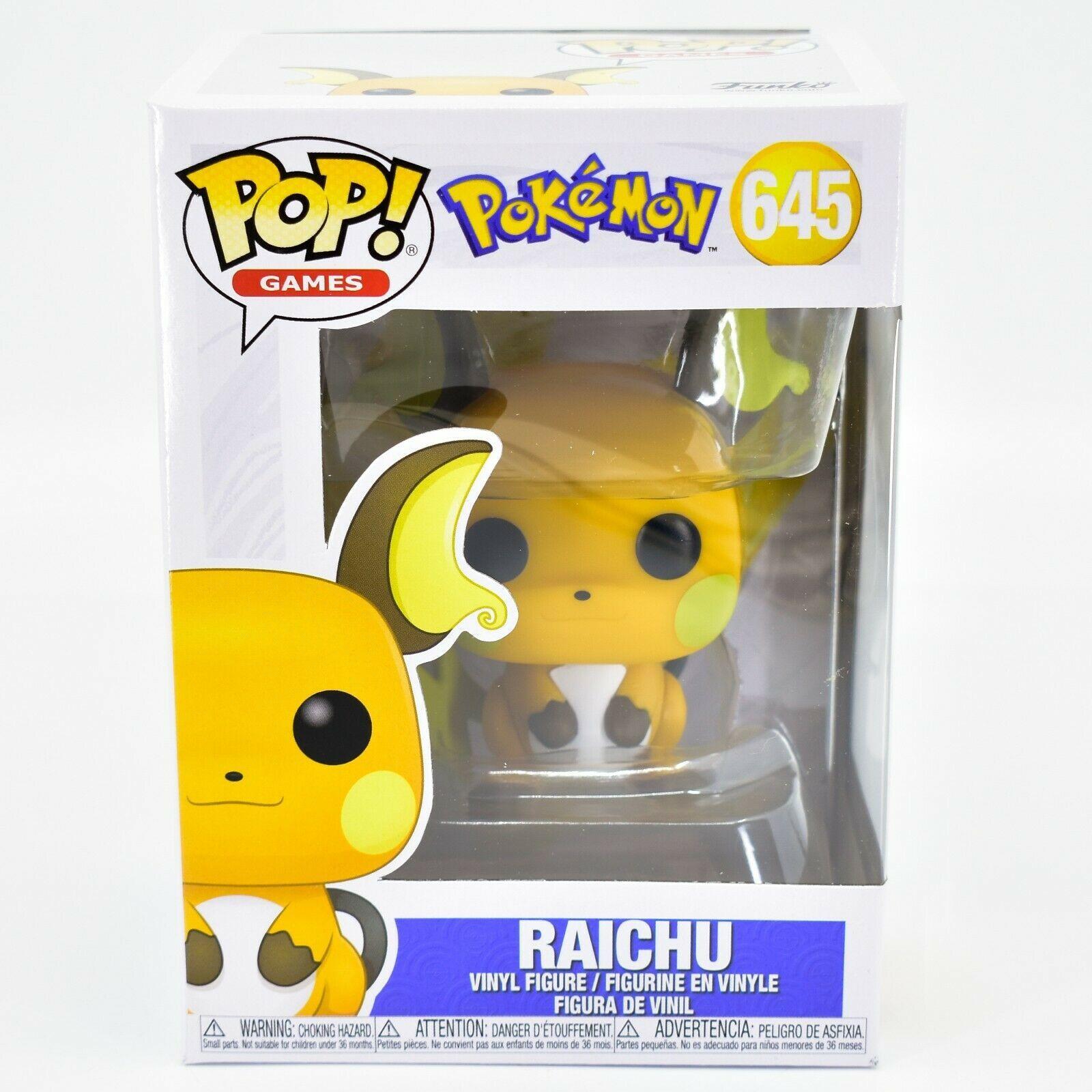 Funko Pop! Pokemon Raichu #645 Vinyl Action Figure