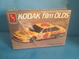 Amt Kodak Film Olds (Oldsmobile) #4 Model Car Kit 6731 1990 Nascar 1:25 Sealed - $18.69