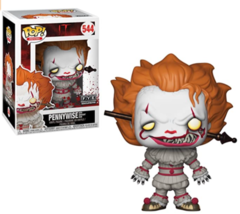 Funko Pop! Movies IT Pennywise #544 (With Wrought Iron) - $24.95