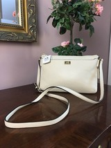 New Coach Crossbody Bag Madison Leather East/West Swingpack 49992 Milk B3 - $94.04