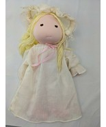 """Applause Night Pals Cloth Doll 12"""" 1982 Nightgown Stuffed Toy - $8.96"""