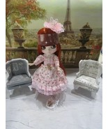 "FACTORY ICY BLYTHE BJD DOLL RED HEAD "" THE LADY IN PINK"" W/OUTFIT-STAND ... - $128.65"