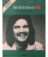 RUSS TAFF We Will Stand, Sheet Music Vtg - $9.85