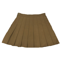 Women Girls Black Pleated Skirt Plus Size Black Pleated Mini Skirt Tennis Skirt image 4