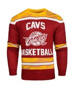 NBA Cleveland Cavaliers Glow In the Dark Ugly Sweater - $54.95