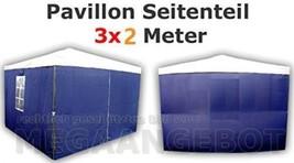 ctz Bleu Pavilion de seitenteile 1 x avec fenêtre + sans 2 3 m depuis...  - $51.31
