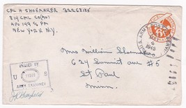 WORLD WAR II EXAMINED MAIL APO 149 US ARMY POSTAL SERVICE MAY 4 1945 - $2.98