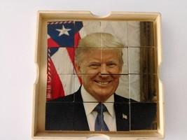 UNIQUE ART - PRESIDENT DONALD TRUMP VS LIBERTY - DOUBLE SLIDING PUZZLE - $5.93