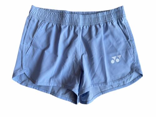 NWOT New Yonex Women Sky Blue Shorts Tennis Golf S Athletic Elastic Waist