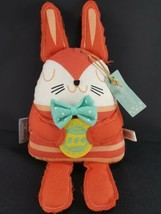 Easter Bunny Hallmark Inspirations Rabbit Pink Holing Egg Plush Stuffed ... - $17.81