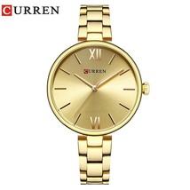 CURREN Women Watch Top Famous Brand Luxury Bracelet Quartz Watch Female Ladies W - $38.23