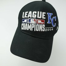 Kansas City Royals League Champions 2014 Fitted Adult Baseball Ball Cap Hat - $11.06