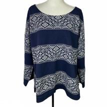 Old Navy Women's XXL Blue Pullover Lightweight Sweater - $24.72