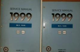 1999 Chevy Astro GMC Safari M/L Service Shop Repair Manual SET OEM Facto... - $32.62