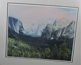 Bob Kreisel Photography YOSEMITE VALLEY California Signed Photograph Mat... - $22.28