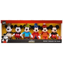 Disney Mickey Through The Years 90th Anniversary Plush Set of 6 Exclusiv... - $74.99