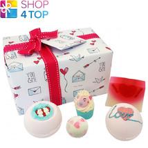 Jar Of Hearts Gift Pack Bomb Cosmetics Lavender Ylang Ylang Handmade Natural New - $17.86