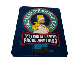 Homer Simpson Sign Facts are Meaningless 9X7 picture wall hanging Groeni... - $17.37
