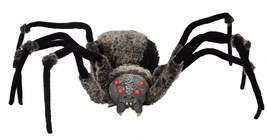 Spider Giant with LED Eyes 4.5 ft Halloween Prop Haunted House Spooky De... - €56,08 EUR
