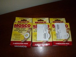 (3) MOSCO One Step Corn Remover Pads, Max Strength, 24 Medicated Pads - $19.99