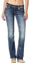 Rock Revival Women's Premium Boot Cut Light Denim Jeans Woven Pants Abelen B