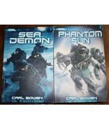 Scholastic Sea Demon Phantom Sun White Needle Paperback Book Lot 3 Books... - $14.83
