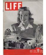 ORIGINAL Vintage Life Magazine June 8 1942 Nurses Aides - $27.86