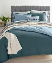 Martha Stewart Whim Cotton Linen Reversible 3-pc. Comforter Set King Blue - $127.71