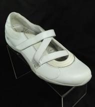 Skechers Size 9 Ballet Sneakers Women's Exercise Dance Shoe White Mary Jane - £21.89 GBP