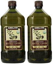 Kirkland Signature, Organic Extra Virgin Olive Oil 3.6 Ounce uqeUi (Pack of 2) - $79.17