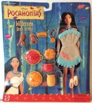 Pocahontas Wilderness Dress N Play Doll Outfit Accessories Disney Feather New - $29.51