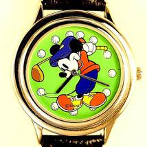 Golf Mickey Rare Left Handed Swing, Golf Attire, Disney Fossil Watch, Un... - $97.86