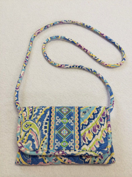 ce7c490dbb1a Vera Bradley Capri Blue Paisley Diamond and 42 similar items. S l1600