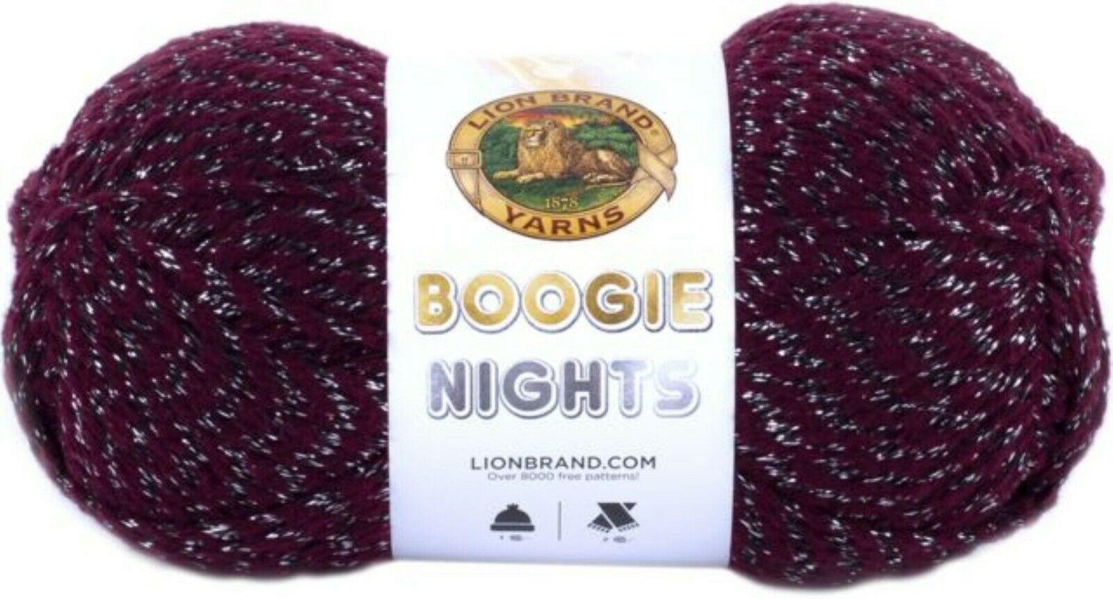 Lion Brand Boogie Nights Yarn in Joker, Bulky 5 Weight