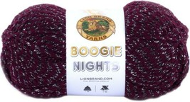 Lion Brand Boogie Nights Yarn in Joker, Bulky 5 Weight - $7.49
