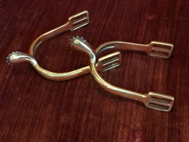 Model 1885 Brass Cavalry Spurs - reproduction - $40.00