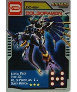 Bandai Digimon S1 D-CYBER Collect Card Game Dolgoramon   - $10.99