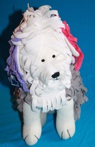 "New Applause Plush DOG SEYMOUR SHEEPDOG 12"" Stringy Long Cloth Stuffed S... - $33.79"