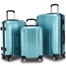 NEW! Luggage Travel Set Luggage ABS+PC Trolley Suitcase Spinner - $167.20